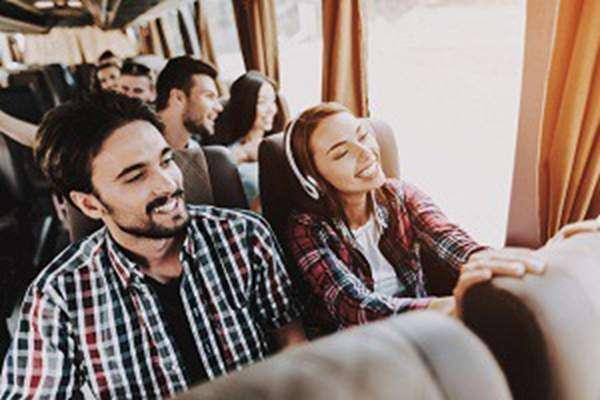 Komfortowa podróż busem do Anglii